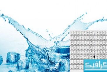 دانلود براش های فتوشاپ پاشیده شدن آب – 2