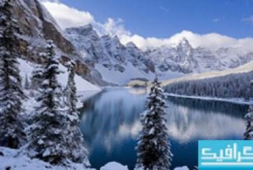 دانلود والپیپر زمستان Winter In The Mountains