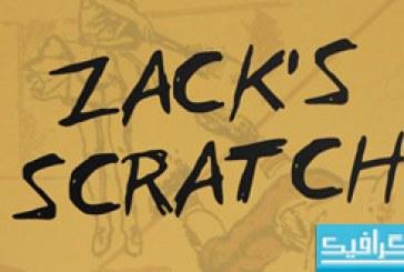 دانلود فونت انگلیسی Zack's Scratch