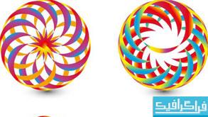 دانلود لوگو های دایره ای انتزاعی