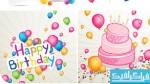 وکتور های جشن تولد