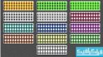دانلود 40 پترن فتوشاپ ال ای دی - LED
