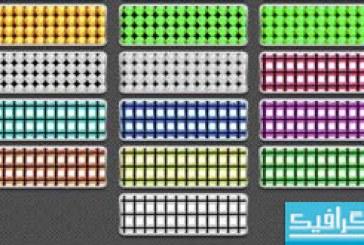 دانلود 40 پترن فتوشاپ ال ای دی – LED