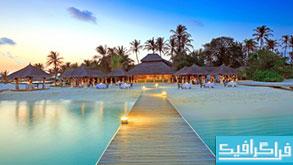 دانلود والپیپر جزیره Maldive Islands