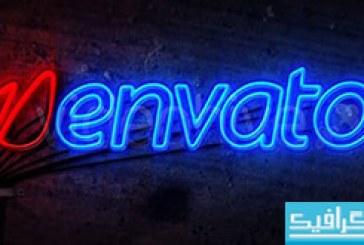 پروژه افتر افکت Neon Light