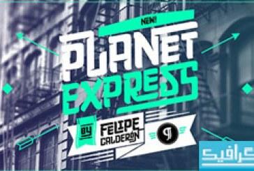 دانلود فونت انگلیسی Planet Express