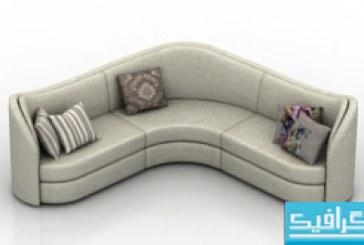 مدل سه بعدی کاناپه – شماره 3