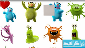 دانلود تصاویر استوک شخصیت های سه بعدی