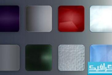 دانلود 8 استایل فتوشاپ دکمه وب