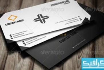دانلود کارت ویزیت شرکتی – طرح شماره 14