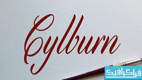 دانلود فونت انگلیسی Cylburn