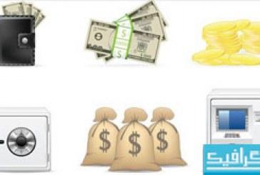 دانلود آیکون های مالی و پول – شماره 2