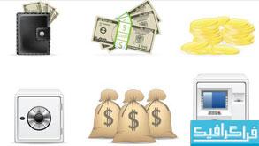 دانلود آیکون های مالی و پول - شماره 2