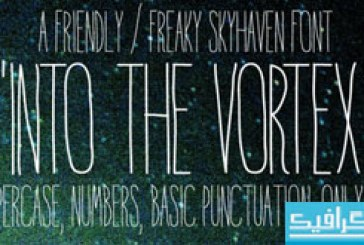 دانلود فونت انگلیسی Into The Vortex