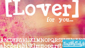 دانلود فونت انگلیسی Lover