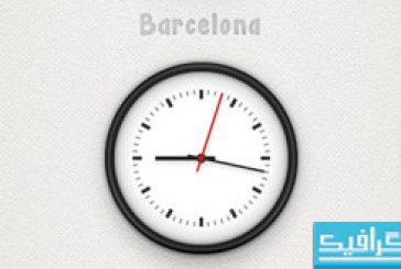 آموزش ایلوستریتور ساخت ساعت دیواری