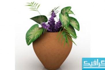 دانلود مدل سه بعدی گلدان – شماره 3