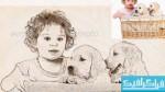 اکشن فتوشاپ تبدیل عکس به نقاشی مداد - شماره 4