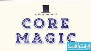 دانلود فونت انگلیسی Core Magic