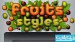 دانلود استایل های فتوشاپ میوه ای - شماره 2