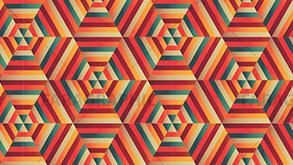 آموزش ایلوستریتور ساخت پترن شش ضلعی