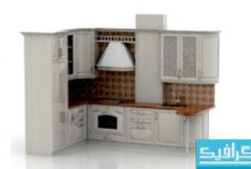 مدل سه بعدی آشپزخانه – شماره 2