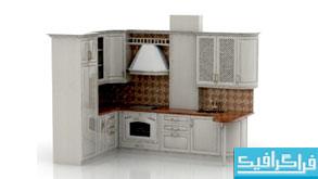 مدل سه بعدی آشپزخانه - شماره 2