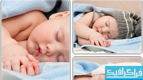 دانلود تصاویر استوک کودک خوابیده