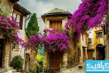 دانلود والپیپر دهکده ای در اروپا