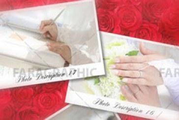 پروژه افتر افکت عروسی