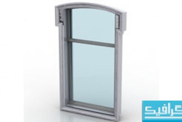 مدل سه بعدی پنجره – شماره 2
