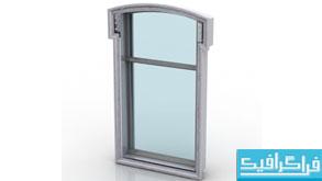 مدل سه بعدی پنجره - شماره 2