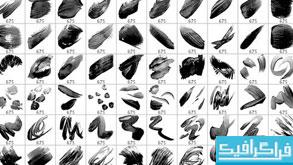 دانلود 100 براش فتوشاپ حرکت قلموی نقاشی