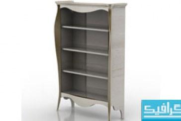 مدل سه بعدی قفسه کتاب – شماره 2