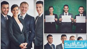 دانلود تصاویر استوک کارمندان موفق