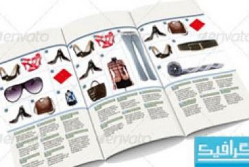 فایل لایه باز کاتالوگ محصولات