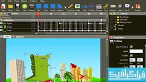 دانلود نرم افزار ساخت انیمیشن وب Hippo Animator 3.5
