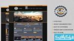 قالب پی اس دی سایت شرکتی