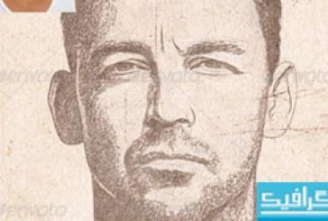 اکشن فتوشاپ تبدیل عکس به نقاشی مداد – شماره 5