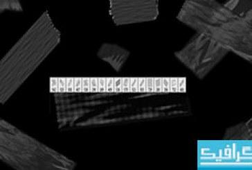 دانلود براش های فتوشاپ چسب نواری بریده شده