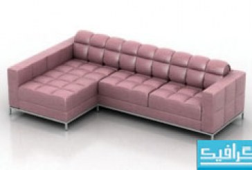مدل سه بعدی کاناپه – شماره 5