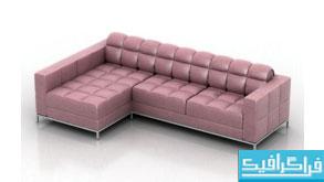 مدل سه بعدی کاناپه - شماره 5