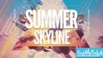 فایل لایه باز پوستر موسیقی Summer Skyline