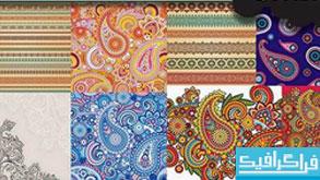 وکتور طرح های اسلیمی زیبا - شماره 3