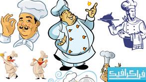 وکتور های آشپز - شماره 2