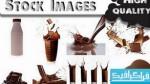 دانلود تصاویر استوک شیر و کاکائو