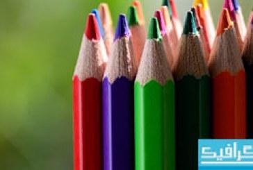 دانلود والپیپر مداد رنگی