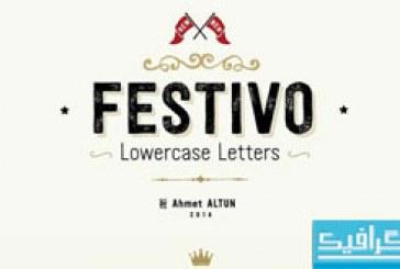 فونت های انگلیسی Festivo