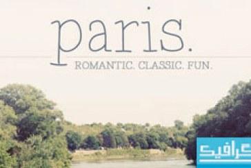 دانلود فونت انگلیسی Paris