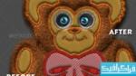 دانلود اکشن فتوشاپ ساخت عروسک مخملی